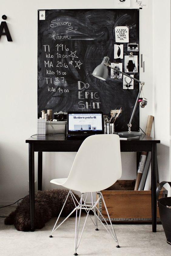 chalkboard-desk