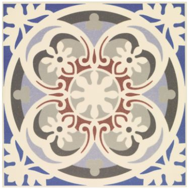 Cement deco azul