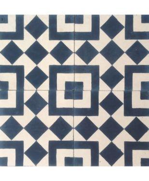 Cement geometrico quadrados